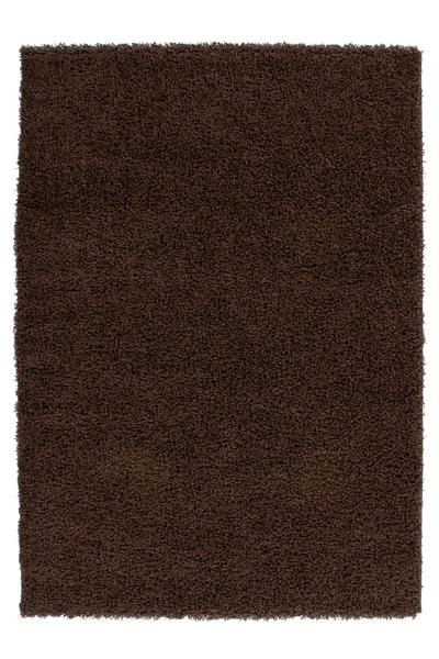 Shaggy Poils Longs Neuf Tapis Moderne Tapis Doux Marron Moka 200x290