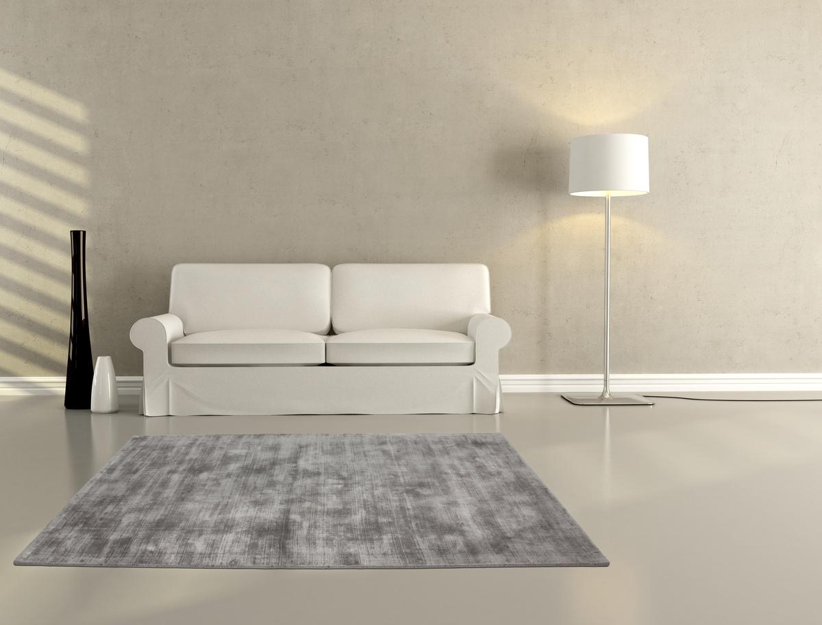 Hochwertige teppiche  Hochwertiger Teppich Viskose Flachflor UNI Teppiche Seide Angebot ...