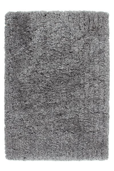 teppich uni langflor flauschig teppiche hochflor handgetuftet grau 80x150 ebay. Black Bedroom Furniture Sets. Home Design Ideas