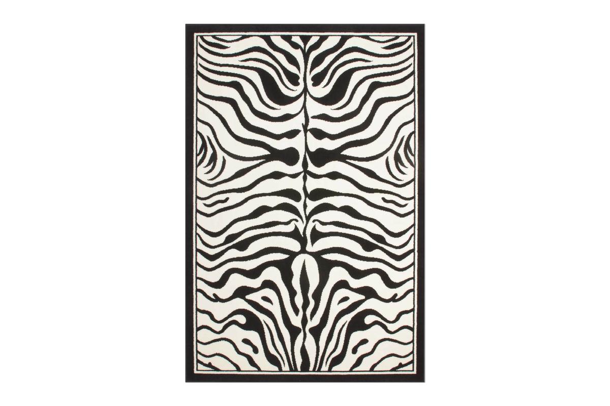 moderne teppiche zebra flachflor designer neu ovp safari. Black Bedroom Furniture Sets. Home Design Ideas